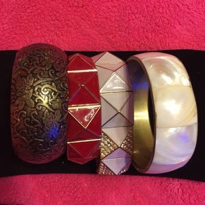 Bangles, bangles, bangles! (4pc bundle)